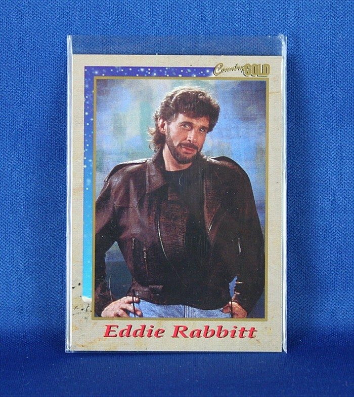 Eddie Rabbitt - Country Gold promo trading card #6