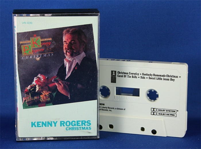 "Kenny Rogers - cassette ""Christmas"""
