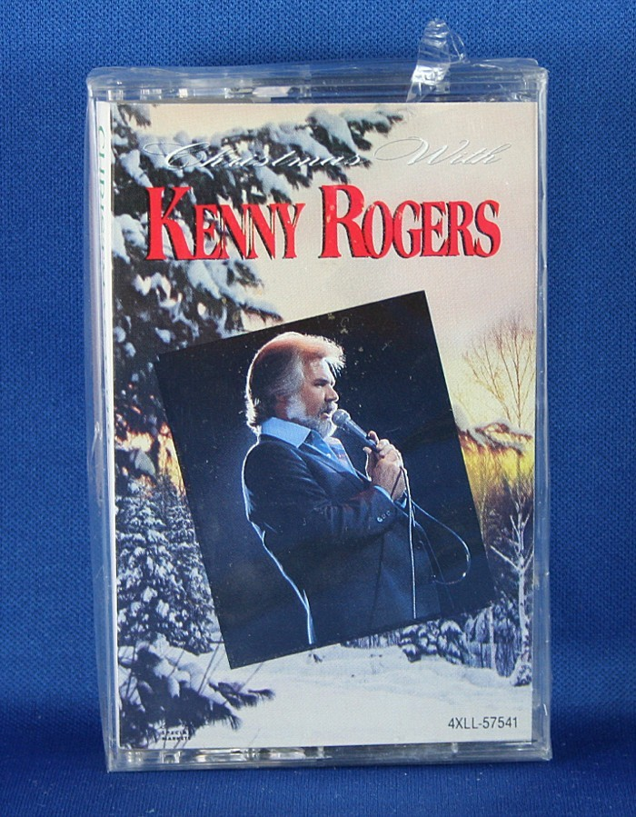 """Kenny Rogers - cassette """"Christmas With Kenny Rogers"""""""