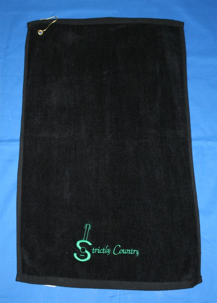 Strictly Country - golf towel (kelly)