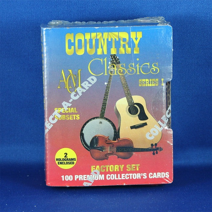 """Various Artists - trading cards """"ACM Country Classics Factory Set"""""""