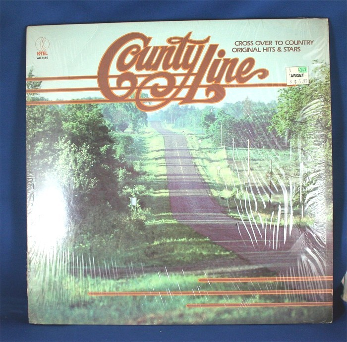 """Various Artists - LP """"County Line"""""""