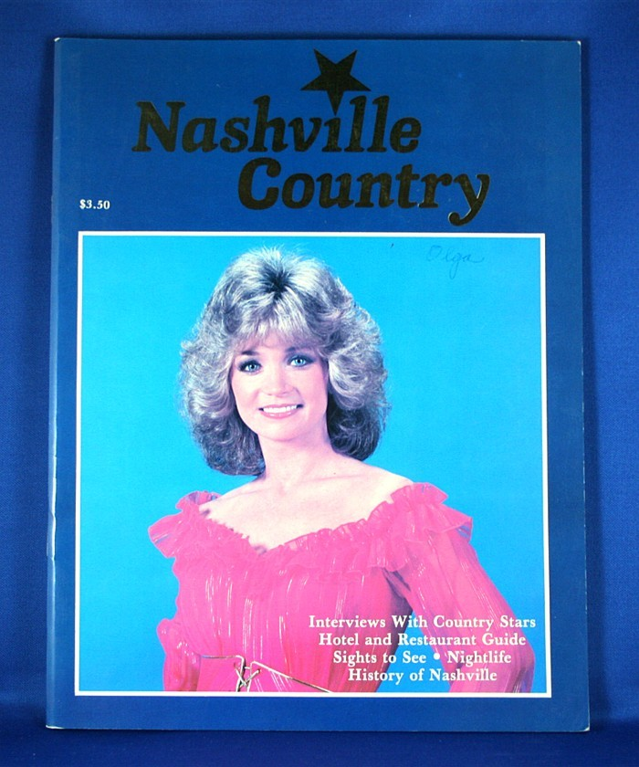 """Various Artists - book """"Nashville Country"""""""