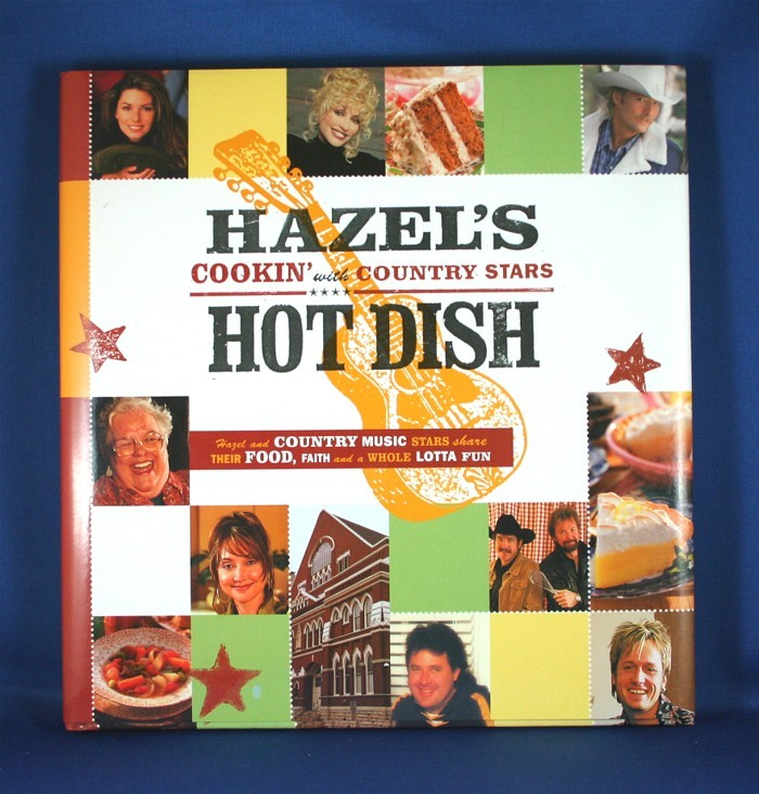 """Various Artists - book """"Hazel's Hot Dish: Cookin' With Country Stars"""""""