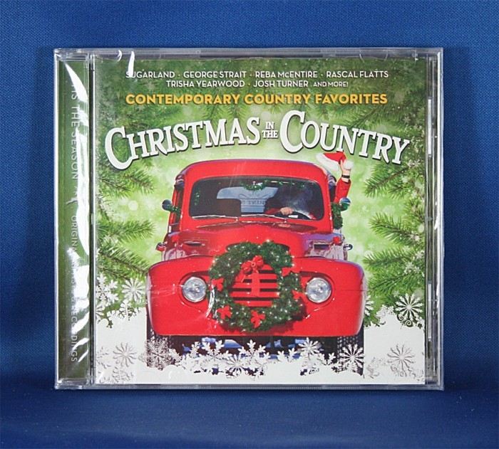 """Various Artists - CD """"Christmas In The Country"""" Contemporary Country Favorites"""