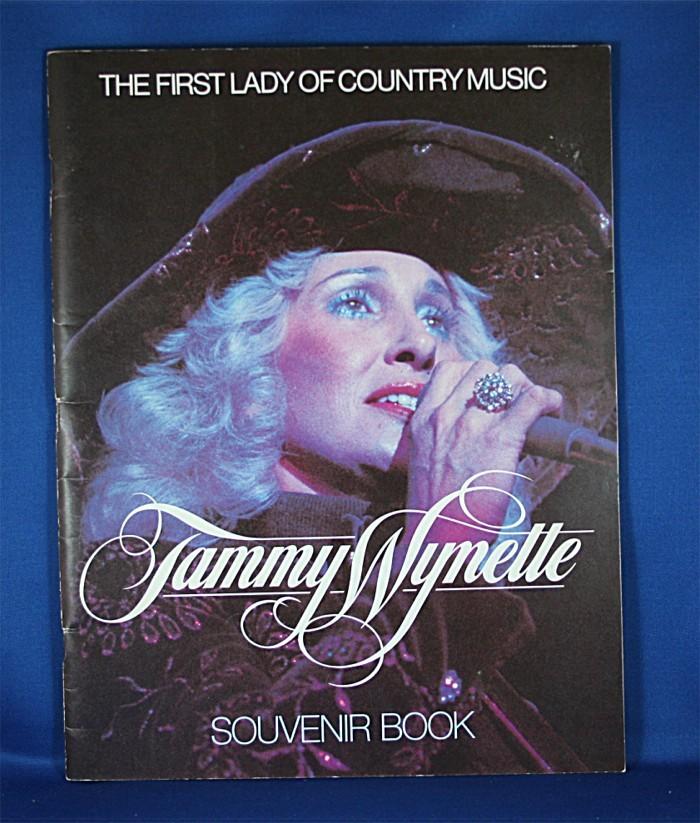 """Tammy Wynette - book """"Tammy Wynette Souvenir Book"""""""