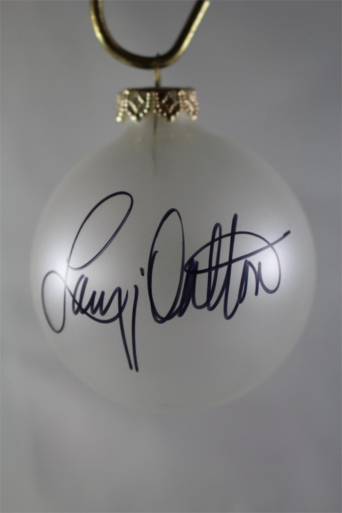 FFF Charities – Lacy J. Dalton – Clear Frosted Christmas Ornament #5