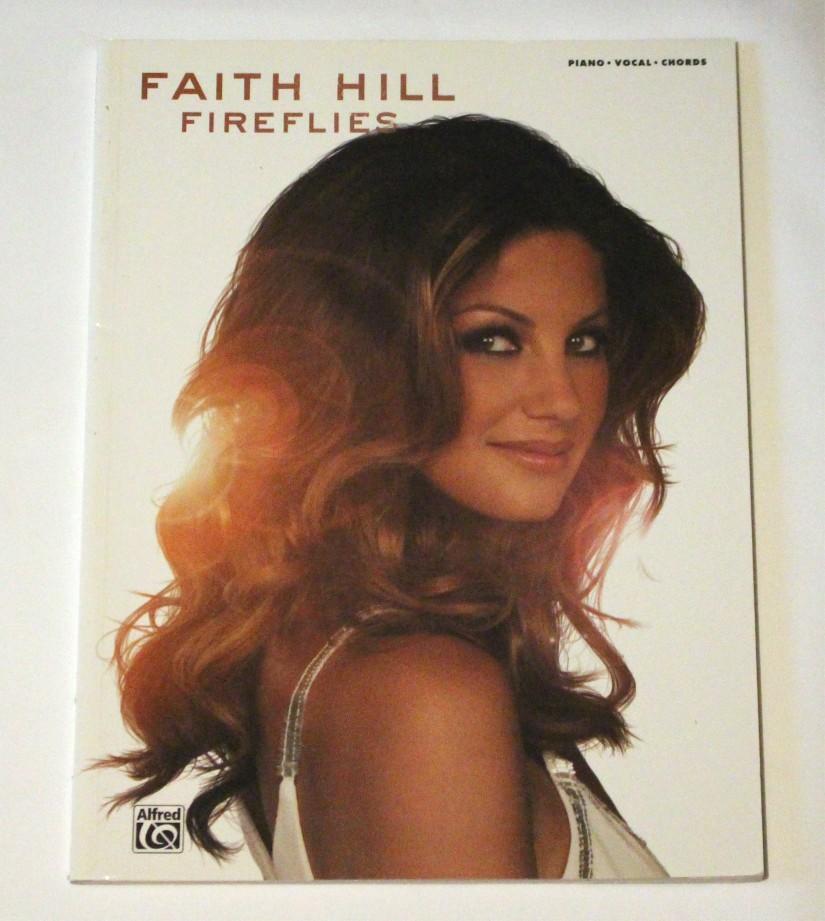 """Faith Hill – songbook """"Fireflies"""""""