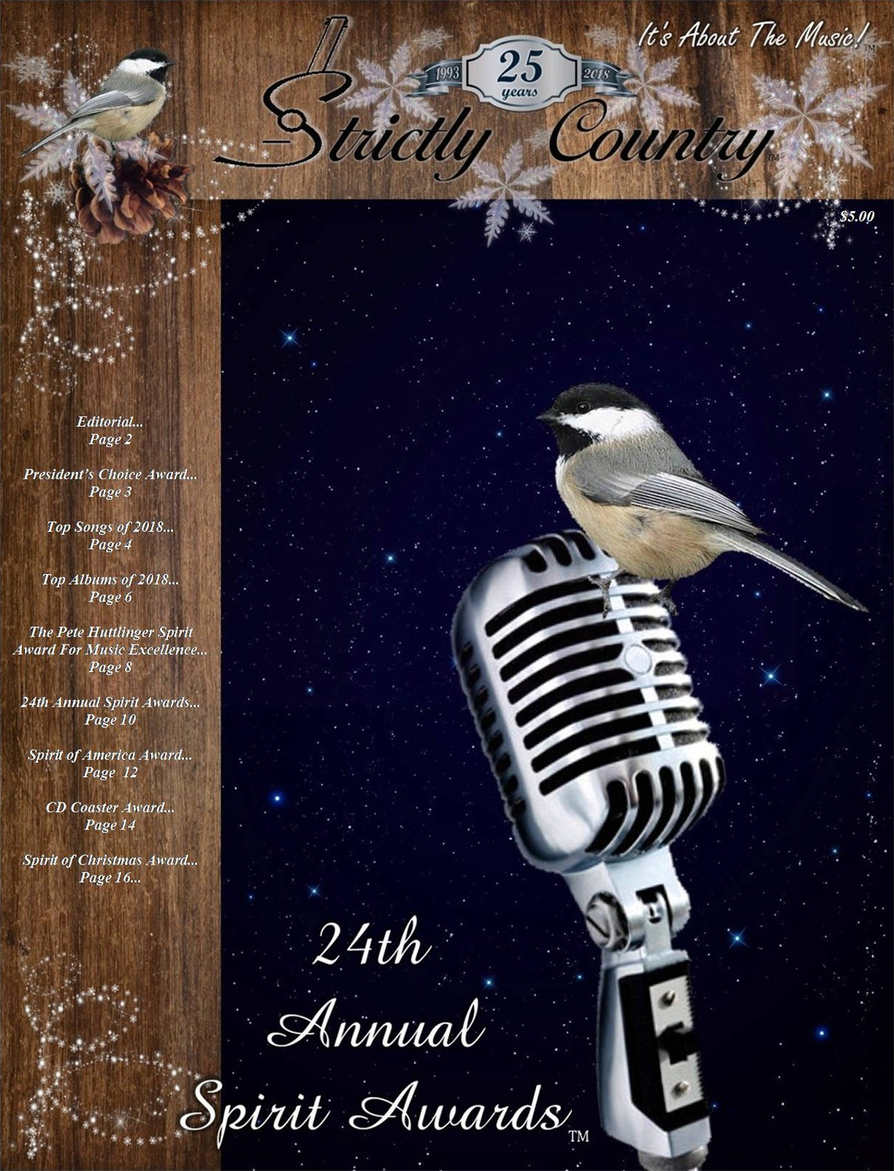 Strictly Country Magazine - Volume 26 Issue 1