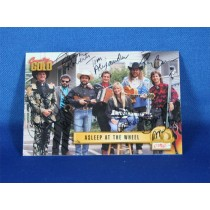 Asleep At The Wheel - autographed 1993 Country Gold trading card #1