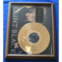 Clint Black - Certified Gold Record Award
