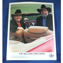 Bellamy Brothers - 8x10 color photograph in convertible