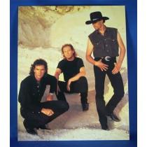 BlackHawk - 8x10 color photograph on limestone backdrop