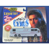 Billy Ray Cyrus - autographed tour bus