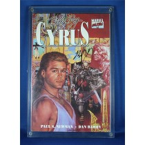 Billy Ray Cyrus - autographed Marvel Music comic book