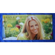 "Deana Carter - promo two sided locker flat ""Did I Shave My Legs For This"""