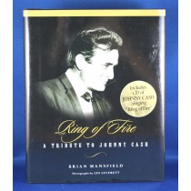 "Johnny Cash - book with cd ""Ring of Fire: A Tribute To Johnny Cash"" by Brian Mansfield"