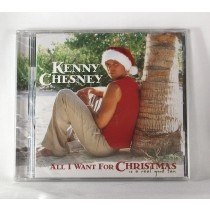 "Kenny Chesney - CD ""All I Want For Christmas, Is A Real Good Tan"""