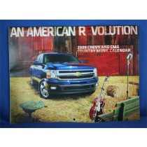 CMA - 2009 Chevy & CMA Country Music Calendar