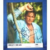 Billy Dean - 8x10 color photograph w/ jean jacket