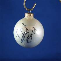 FFF Charities - David Ball - white Christmas ornament #3