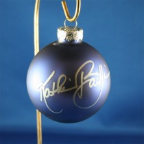 FFF Charities - Kathie Baillie - blue Christmas ornament #2