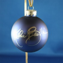 FFF Charities - Kathie Baillie - blue Christmas ornament #8
