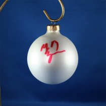 FFF Charities - Billy Ray Cyrus - white Christmas ornament #1