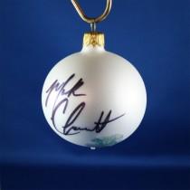FFF Charities - Mark Chesnutt - white  Christmas ornament #3