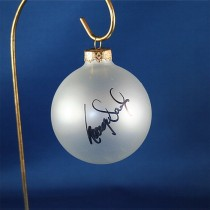 FFF Charities - George Ducas - clear frosted Christmas ornament #4