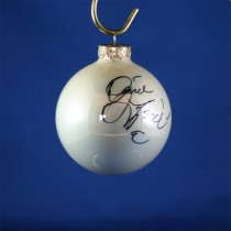 FFF Charities - David Frizzell - white Christmas ornament #5