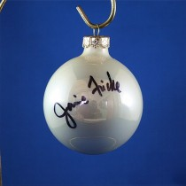 FFF Charities - Janie Frickie - white Christmas ornament #7