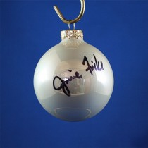 FFF Charities - Janie Frickie - white Christmas ornament #10