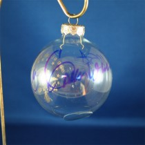 FFF Charities - Lee Greenwood - Clear Patriotic Christmas Ornament #5