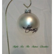 FFF Charities - George Jones - White Christmas Ornament #5