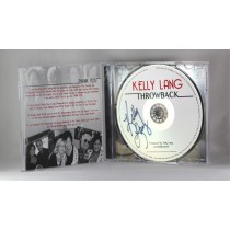 "FFF Charities - Kelly Lang - autographed CD ""Throwback"" w/ special guests"
