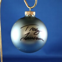FFF Charities - Tracy Lawrence - blue Christmas ornament #10