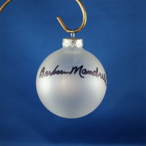FFF Charities - Barbara Mandrell - Clear Christmas Ornament #8
