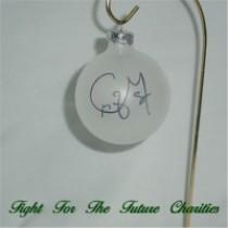 FFF Charities - Craig Morgan - clear Christmas ornament #1
