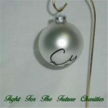 FFF Charities - Craig Morgan - silver Christmas ornament #5