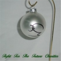 FFF Charities - Craig Morgan - silver Christmas ornament #10