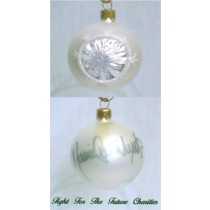 FFF Charities - Daniel Lee Martin - white classic Christmas ornament #2