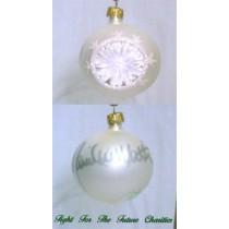 FFF Charities - Daniel Lee Martin - white classic Christmas ornament #3