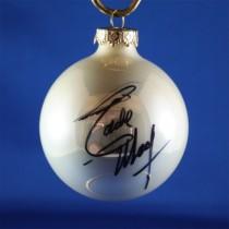 FFF Charities - Eddie Money - white Christmas ornament #1