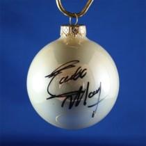 FFF Charities - Eddie Money - white Christmas ornament #10