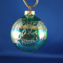 FFF Charities - Pirates of the Mississippi - clear green ornament #1