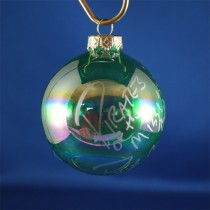 FFF Charities - Pirates of the Mississippi - clear green ornament #2