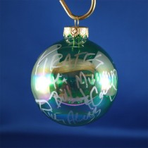 FFF Charities - Pirates of the Mississippi - clear green ornament #3