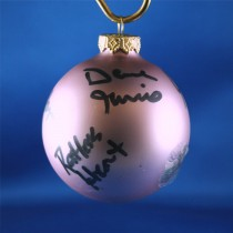 FFF Charities - Restless Heart - Lavendar Christmas ornament #11
