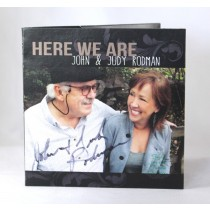 "FFF Charities - Judy & John Rodman - cd ""Here We Are"""